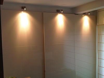 Pladur barcelona armario empotrado en estructura de pladur - Iluminacion interior armarios ...