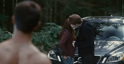 Edward and Bella in Twilight 3 Eclipse