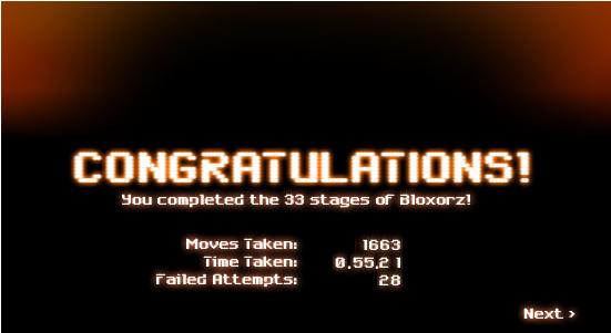 My Feeling Heaven: Bloxorz