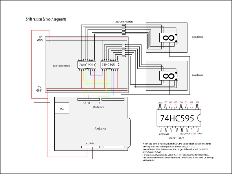 art and technology research  arduino   7 segment with