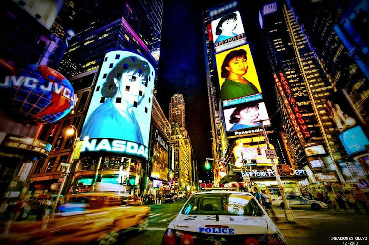POSTERS LILIANA EN NEW YORK CITY