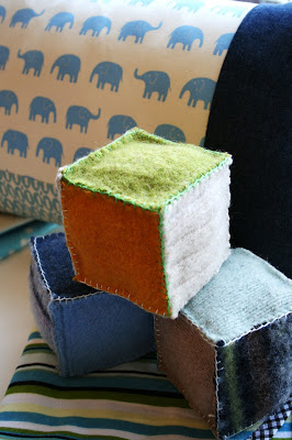 sewing for kids: felt block rattle tutorial