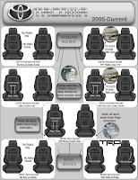 Fix Log Toyota Tacoma Seats