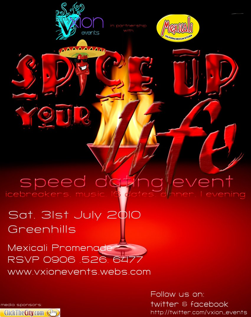 speed dating events telford