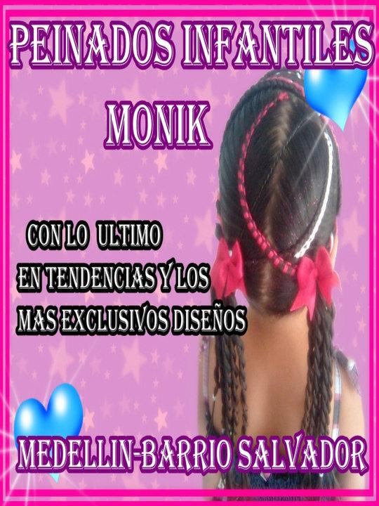 PEINADOS INFANTILES MONIK