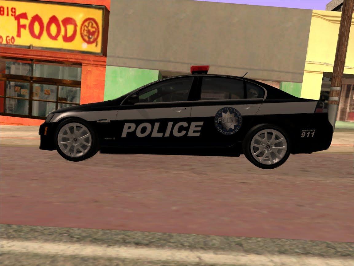Pontiac G8 GXP - Police [LSPD] v.1