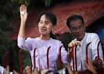 Daw Suu release from house arrest