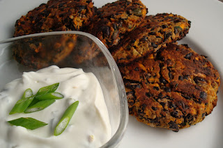 Dishing Up Delights: Spicy Black-Bean Cakes