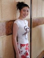Model Bernice Liu Bik Yi