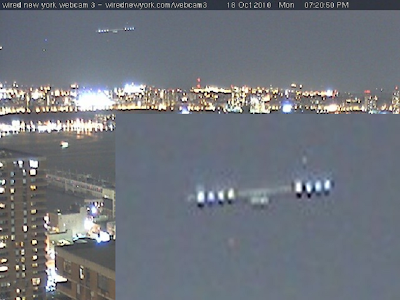 Latest UFO Sightings UFO Captured By Webcam Above New York