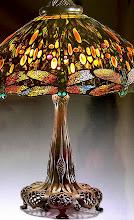Lampe aux libellules 1906