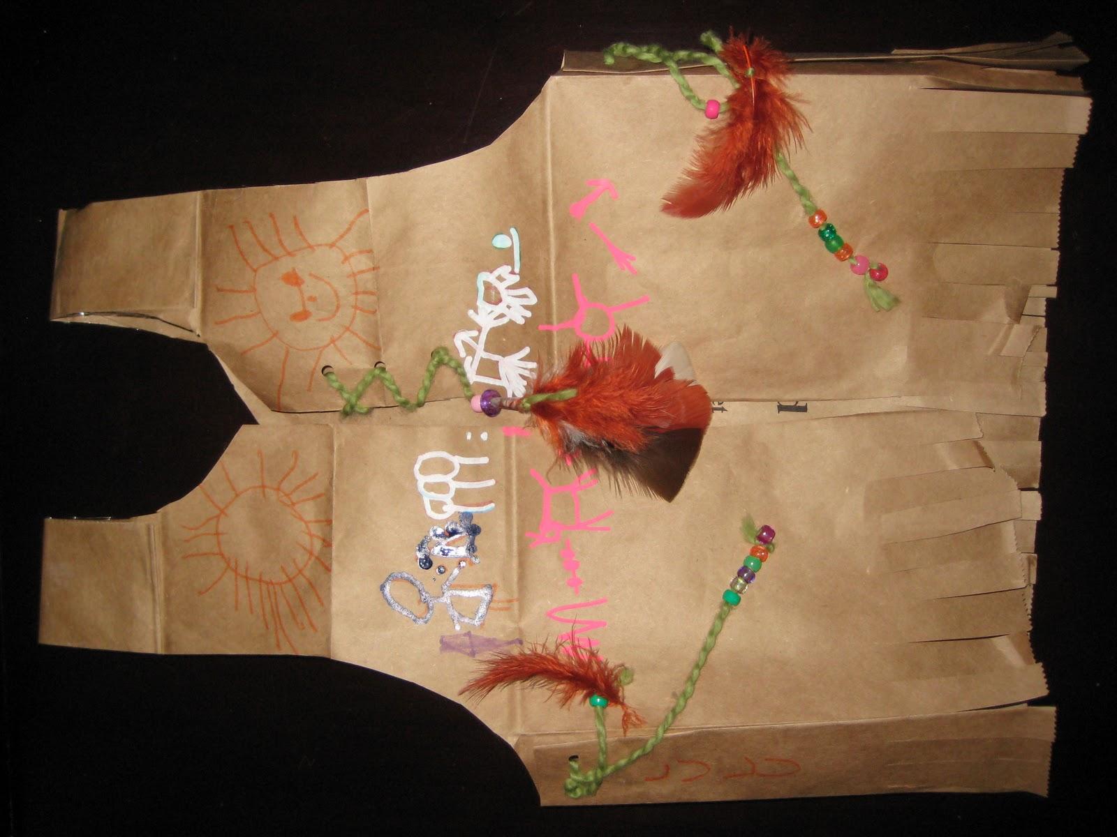 4 crazy kings paper bag vest craft paper bag vest craft jeuxipadfo Gallery