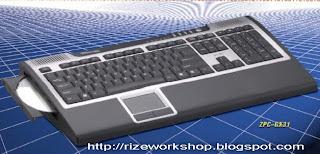 Computer inside a Keyboard