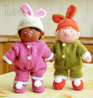 Freebie Friday - Free Easter Bunny Patterns - The Magic Bean
