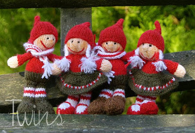 Simply Playing: Free Pocket Gnome Knitting Pattern