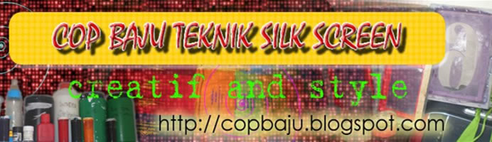 COP BAJU TEKNIK SILK SCREEN