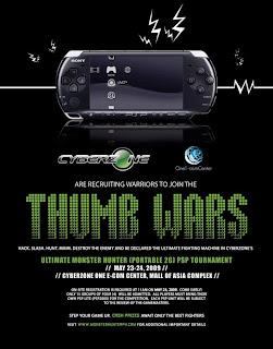 PSP Tournament, Mall Of Asia, One-Ecom Center Cyberzone