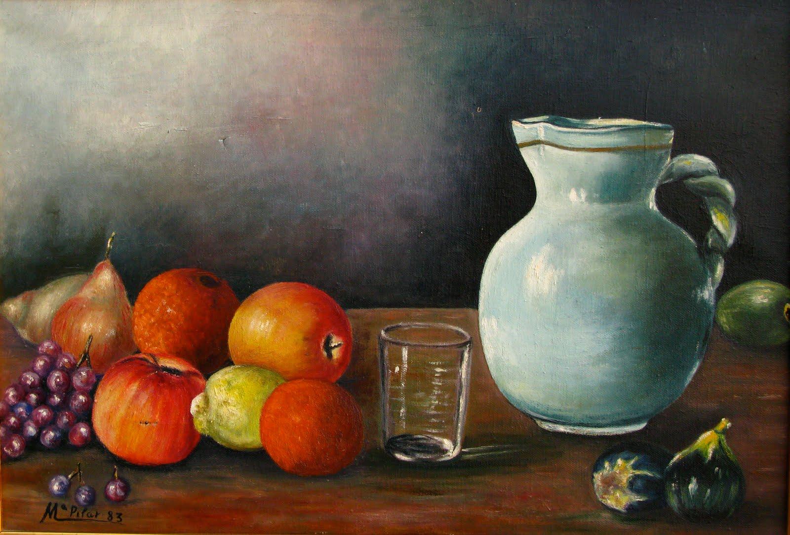 El canto de la calandria bodegones de frutas for Frutas de cristal