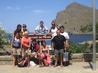 Tot l'equip d'excursió