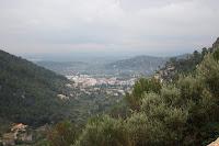 Vista del poble d'Alaró