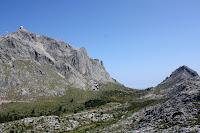 Puig Major a l'esquerra i Puig de ses Vinyes a la dreta