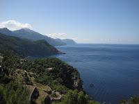 Vista de la Costa, amb la punta de Na Popis al fons (punt més alt de sa Dragonera)