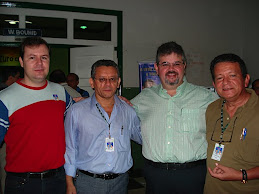 Alguns colegas e amigos da UFRA