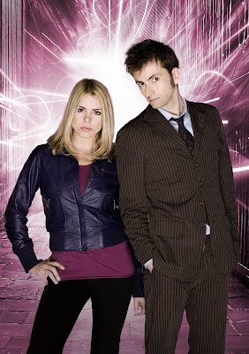 Rose Tyler and the Doctor are reunited in the finale