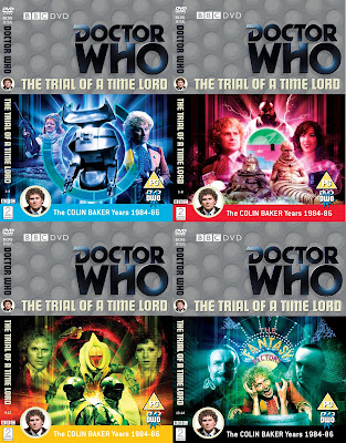 Doctor Who Fansite Trial Of A Timelord Covers