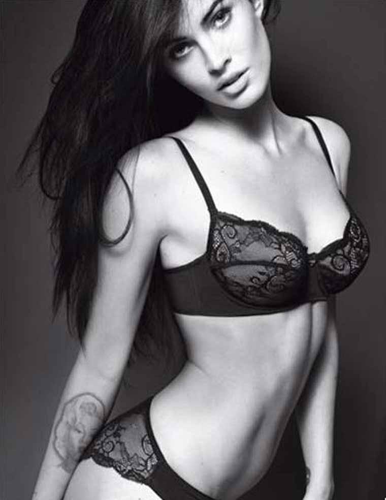 Megan Fox – Emporio Armani Underwear & Jeans Photoshoot