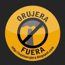 Logotipo No a la Orujera