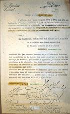 Decreto Operativo Independencia 1