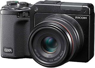 Una gran camara digital Ricoh GXR