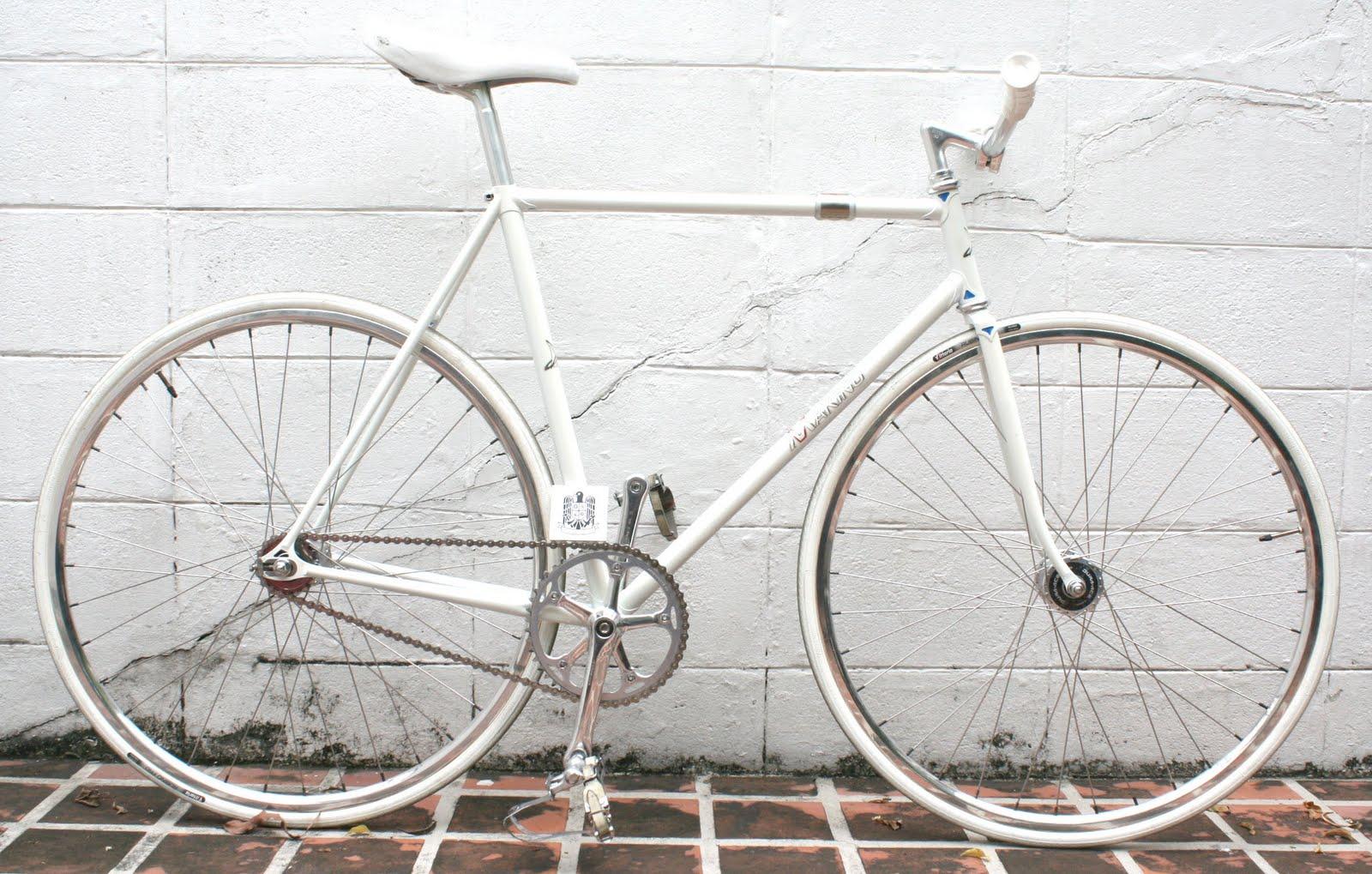 DUCKFIXED: SELL Makino NJS Kerin track frame white