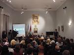 Conferencias en la Embajada de Palestina, Salón de los Mártires