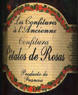 Salmorrejo confitura o mermelada de p talos de rosa for Azucar gelificante