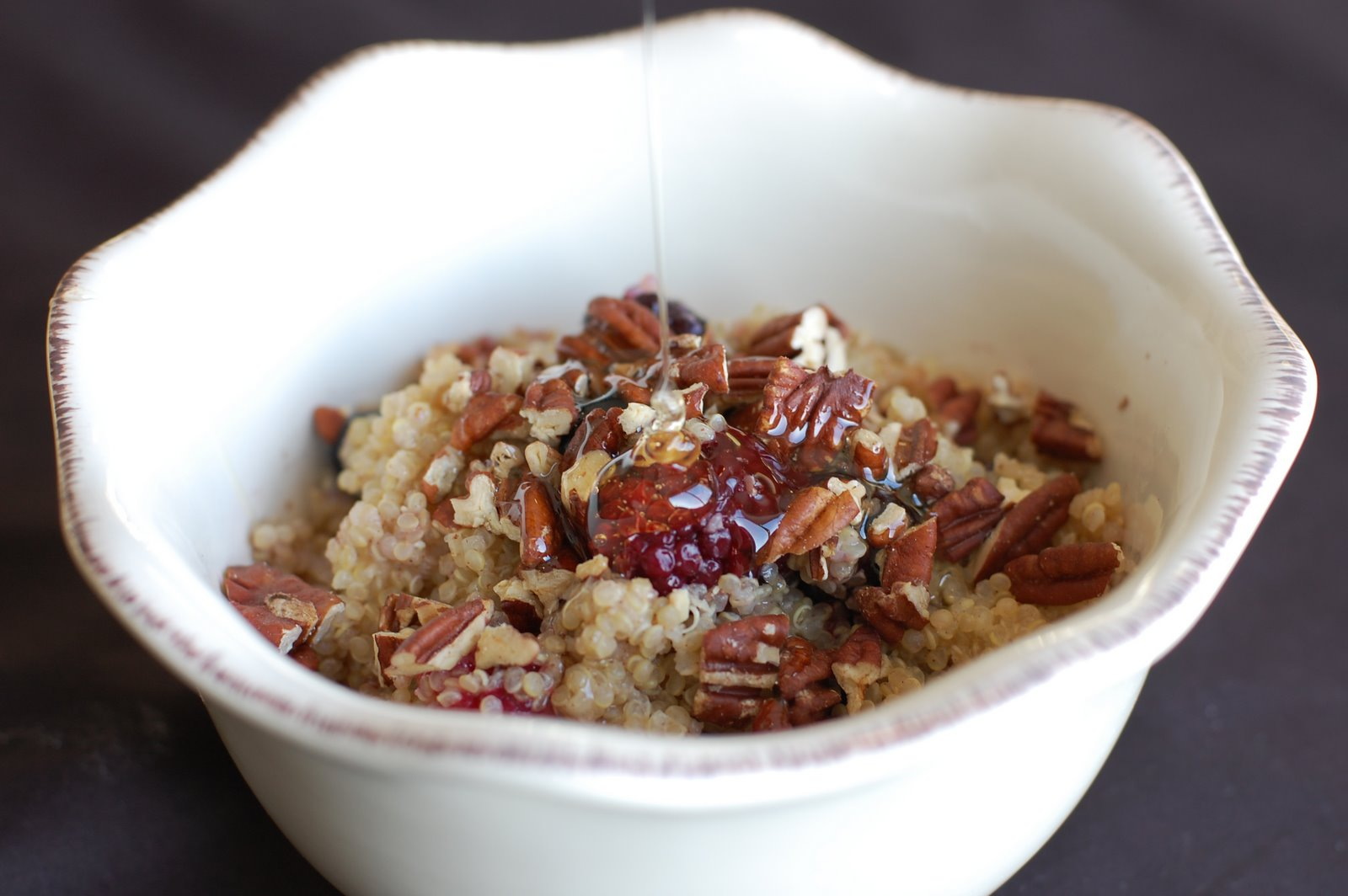 Barefoot and Baking: Warm and Nutty Cinnamon Quinoa