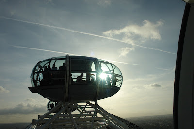 Photograph of London Eye Capsule