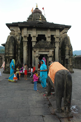 Another view of the ancient Shiva Temple in Baijnath