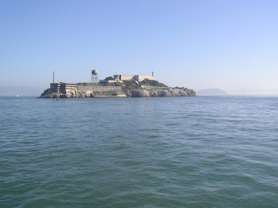 A view of The Rock - Alcatraz