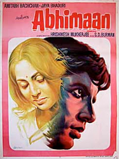 Abhimaan (1973) - A remarkable movie from Amitabh's early career, starring Amitabh Bachchan and Jaya Bhaduri
