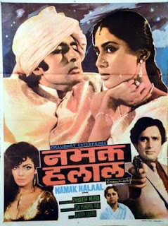 Namak Halal - HIndi MOvie starring Amitabh (1982)