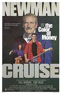 The Color of Money (1986) - Directed by Martin Scorsese and starring Paul Newman and Tom Cruise