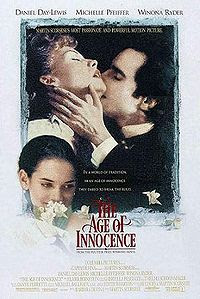 The Age of Innocence (1993) - Directed by Martin Scorsese, and starring Daniel Day-Lewis, Michelle Pfeiffer and Winona Ryder