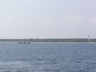 Photo of View of one of the islands in the Lakshadweep from a passing ship