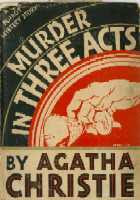 Three Act Tragedy (1935) - a book starring Hercule Poirot - written by Agatha Christie
