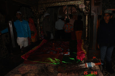 The actual tomb inside Fatehpur Sikri