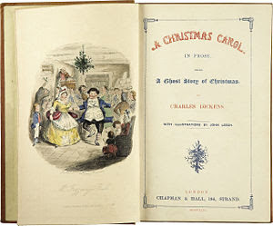 A Christmas Carol (By Charles Dickens - 1843)