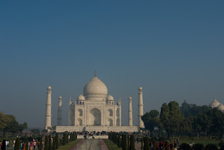 Photo of The Taj Mahal from a distance