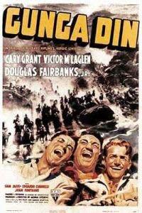 Gunga Din (1939) starring Cary Grant, Victor McLaglen, Douglas Fairbanks Jr.